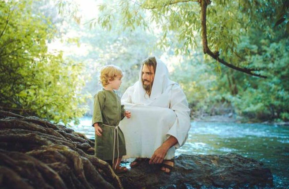 chúa giêsu và trẻ em